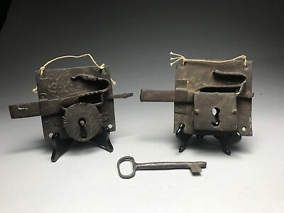 Antique Wrought Iron Gate Locks And Key Works
