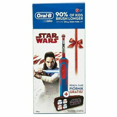 Oral-B Vitality STAR WARS Childrens Electric Toothbrush & Pencil Case Light Side
