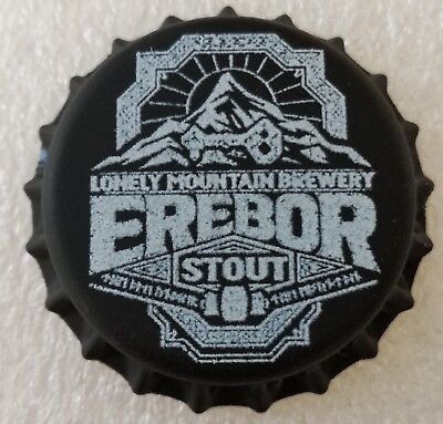 Fantasy Novelty Uncrimped Beer Bottle Cap Erebor Sindarin The Lord of the Rings