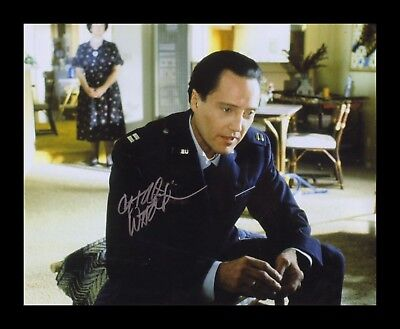 CHRISTOPHER LLOYD AUTOGRAPHED SIGNED /& FRAMED PP POSTER PHOTO