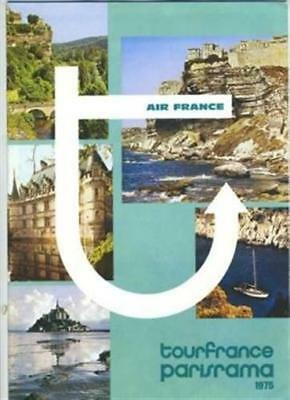 Air France Tours to France Booklet 1975 Parisrama