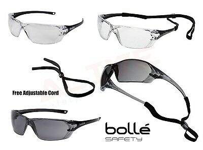 Bolle PRISM Safety Glasses Cycling Sports Spectacles Anti-Scratch Anti-Fog Lens