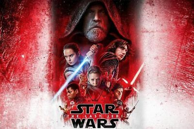 Star Wars The Last Jedi Dvd + Digital Brand New Sealed *please Read*