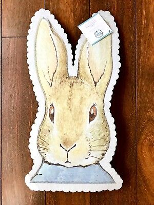POTTERY BARN KIDS PETER RABBIT Chair Backer BEATRIX POTTER Easter NO MONO NWT
