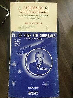 Bing Crosby Ill Be Home For Christmas.I Ll Be Home For Christmas Sheet Music 5 00 Picclick