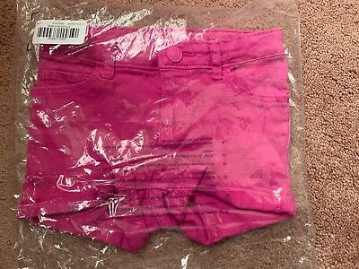 BABY GAP Denim Shorts Pink - SIZE 3T NWT