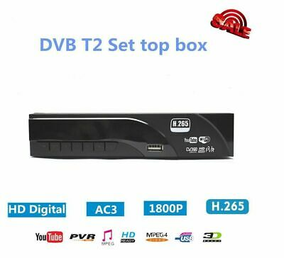 DIGITALE TERRESTRE RICEVITORE HDTV set top box Youtube Wifi DVB-T2 H.265 USBPVR