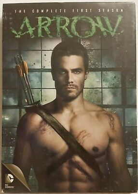 ARROW The Complete First Season (2013, 5-DVD Set) *SHIPS OUT FAST Mon-Sat!