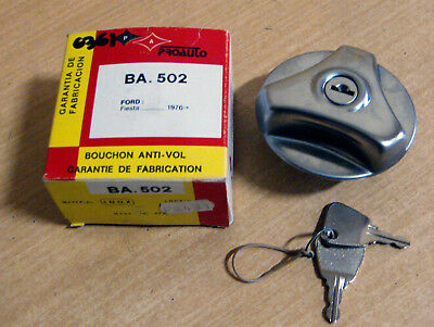6361 - Nos Tapon Deposito Combustible Con Llave Ford Fiesta I (76-83)