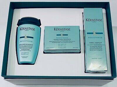 BOX Cofre : Bain 250ML + Masque Architecte 200ML + NEW Ciment 150ML Kerastase