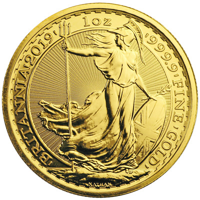 2019 U.K. 100 Pound 1 oz Gold Britannia Brilliant Uncirculated