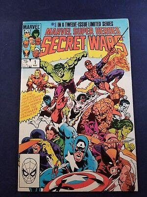 Marvel Super Heroes Secret Wars #1 7.0  (1984) Cheapest Around Taking Offers Hot