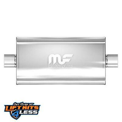 MagnaFlow 12579 Satin Stainless Steel Muffler for 2002-05 Cadillac Escalade Gas