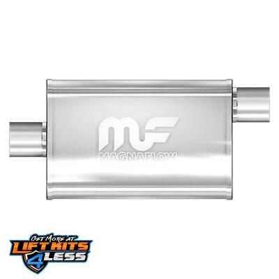 MagnaFlow 14325 Polished Stainless Steel Muffler