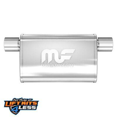 MagnaFlow 14376 Polished Stainless Steel Muffler for 02-16 Dodge Challenger Gas