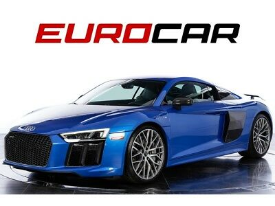 """2017 R8 5.2 quattro V10 Plus tunning 'Ara Blue Crystal' Exterior, Full Leather Package, 20"""" Wheel Package"""