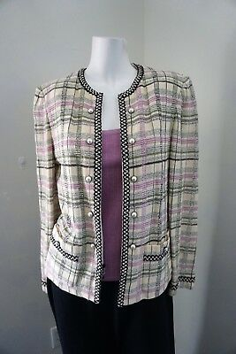 St. John Collection by Marie Gray Women's Jacket with Matching Cami Size 8