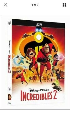 "🎁""INCREDIBLES 2"" 🎁 Brand New DVD. Factory Sealed. Free Shipping."