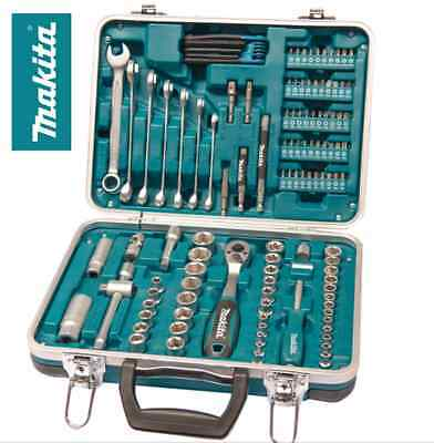 Makita P-90635 118PC Tool Kit Maintenance Socket And Screwdriver Bit Tool Set