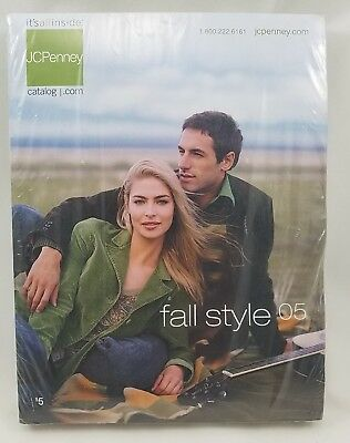 2005 JC Penney Catalog Fall Winter Fashion Home Decor New Sealed Plastic Mailer
