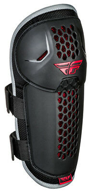 New Fly Racing Youth Barricade Knee/shin Guards Black/red One Size
