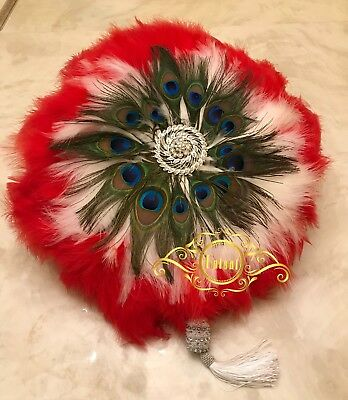 African Bridal Wedding Accessories - Hand Fan
