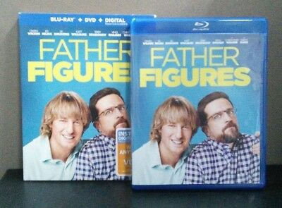 Father Figures    (Blu-ray + DVD w/Slipcover)  No Digital     LIKE NEW
