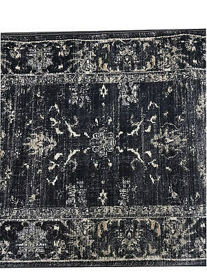Hallway Runner Carpet Rug Black Fume 80cm Wide Tavernelle Per Metre New Floor