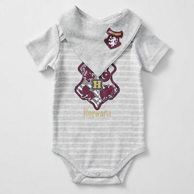 NEW Harry Potter Baby Bodysuit & Bib Set