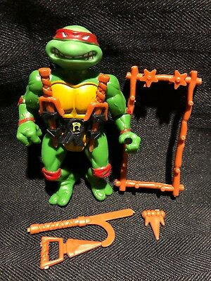 TMNT 1988 Soft Head Raphael 100% Complete Teenage Mutant Ninja Turtles Raphael