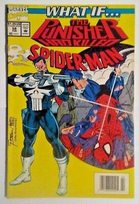 Marvel Comics What If... the Punisher had Killed Spider-Man #58 February 1989 NM