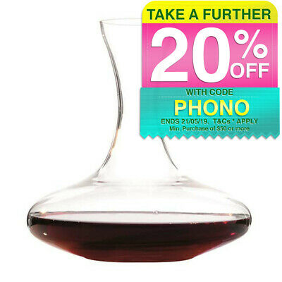 Maxwell & Williams 1.75L Diamante Red Wine Glass Carafe/Decanter/Pitcher/Pourer