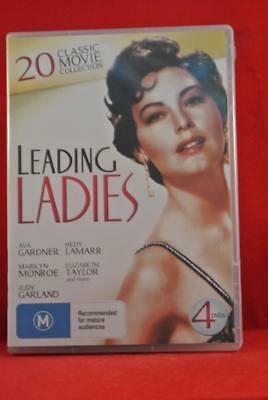 NEW - Leading Ladies 20 Classic Movie Collection - Region 4 - DVD