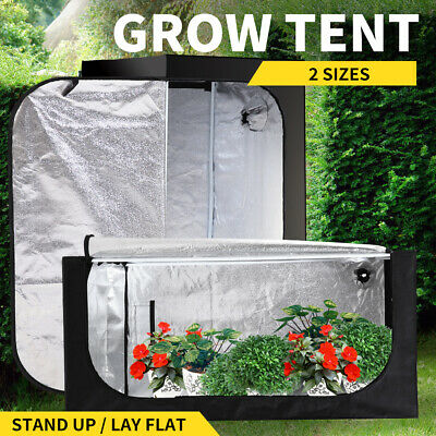 New Hydroponics Grow Room Tent Reflective Aluminum Oxford Cloth Fast Delivery AU