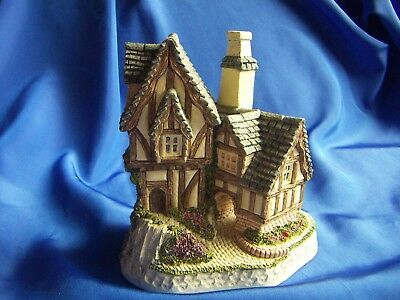 David Winter Cottage The Candlemaker's Scene 1991 Made in Great Britain