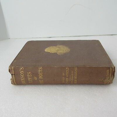 Johnson's Chief Lives of the Poets & Macaulay's Life of Johnson Henry Holt 1879