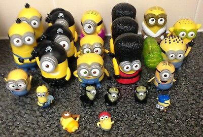 Despicable Me Minions 23x Character Figurine Collection Joblot Bundle Mixed Toys