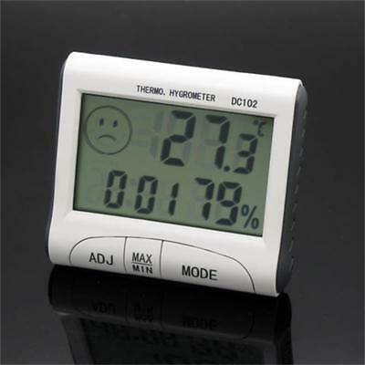 Digital LCD Thermometer Hygrometer Indoor Room Humidity Meter Temperature RF