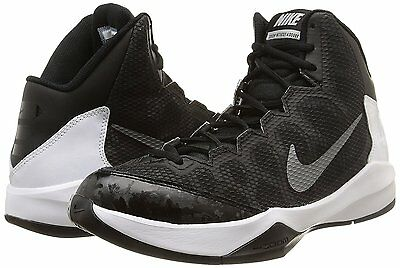 Men's Nike Zoom Without a Doubt Basketball Shoes, 749432 002 Sizes 8-12 Black/Si