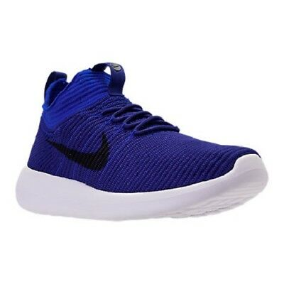 Men's Nike Roshe Two Flyknit V2 Casual Shoes, 918263 400 Sizes 8.5-13 Deep Royal