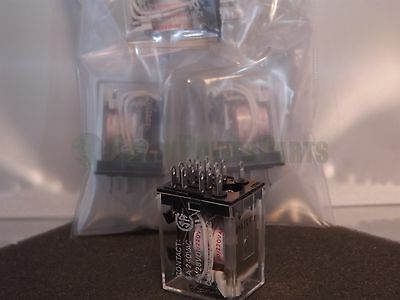 OMRON  MY4N 200/220VAC 5A 28VDC Relay Lot x4 NOS