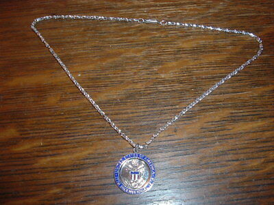 Bicentennial Sterling Medal and German Necklace