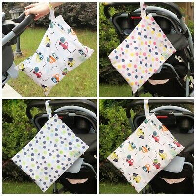Universal Portable Baby Diaper Nappy Changing Organizer Bag for Stroller Storage