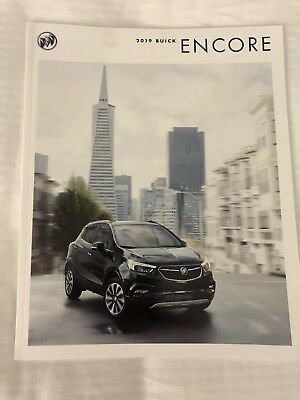 2019 BUICK ENCORE 28-page Original Sales Brochure