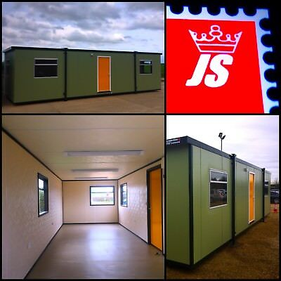 NEW £9999 +VAT 32' X 10' Portable Building Site Office Site Cabin Portable Cabin