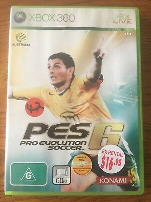 PES 6 Pro Evolution Soccer - Complete - Xbox 360 - Fast Free Shipping