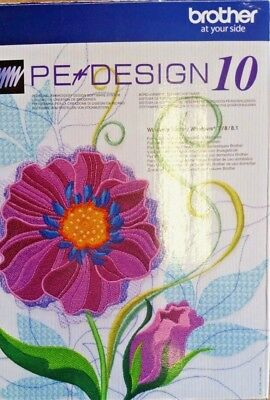 Brother Embroidery Software PE Design 10
