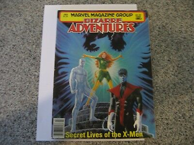 Marvel Magazine Group, Bizarre Adventures #27, X-Men, Fine+ to Very Fine-