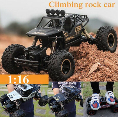 1:16 4WD RC Cars Alloy Speed 2.4G Radio Control  Buggy Trucks Toys