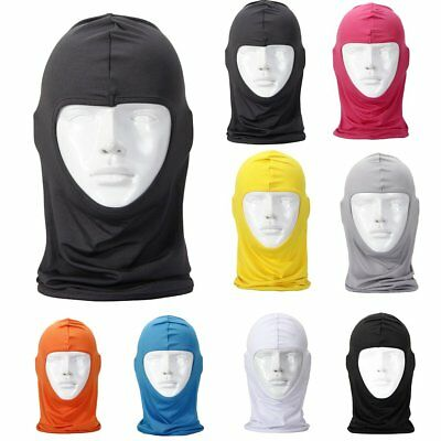 Outdoor Sports Cycling Motorcycle Ski Full Face Head Neck Lycra Balaclava Mask